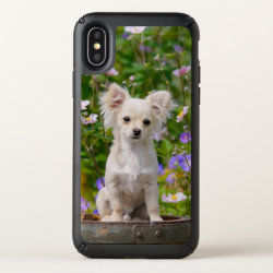 Speck Presidio iPhone X Case with Chihuahua Phone Cases design