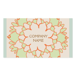 Cute Lotus Natural Holistic Health and Beauty Double-Sided Standard Business Cards (Pack Of 100)