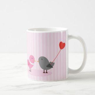 Cute Love Birds Mugs