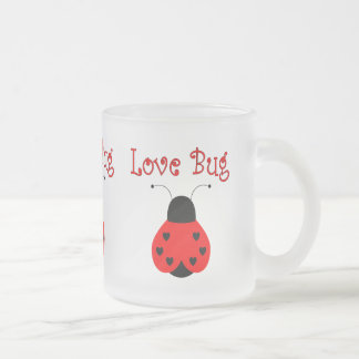 Cute Love Bug Heart Ladybug Mug