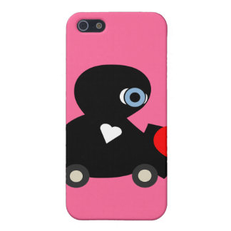 cute love bug,hearts,kisses skin for your iphone case for iPhone SE/5/5s