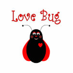 Cute Love Bug Ladybug Ornament