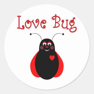 Cute Love Bug Ladybug Sticker