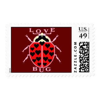 Cute Love Bug Stamps