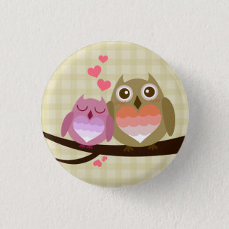 Cute Love Giraffe Butterfly Rainbow Castle & Cloud Pinback Button