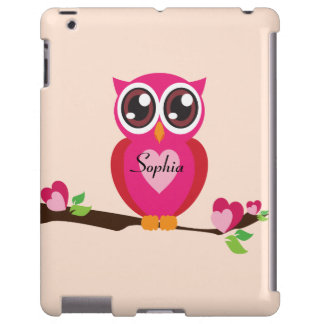 Cute Love Owl with Custom Name