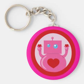Cute Love Robot Keychains