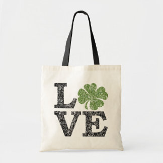 Cute Love Shamrock Bags