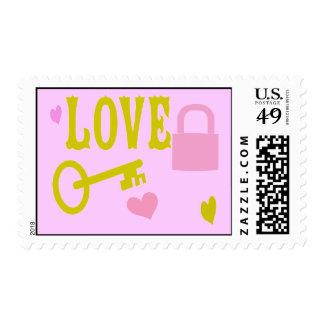 Cute Love Stamp