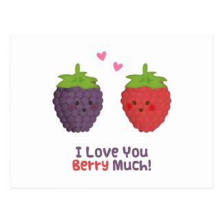 Love Puns PostcardsI Love You Puns