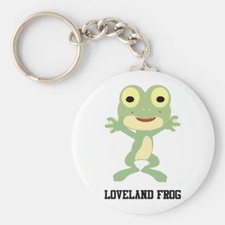 Cute Loveland Frog Keychain