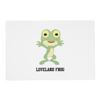 Cute Loveland Frog Placemat