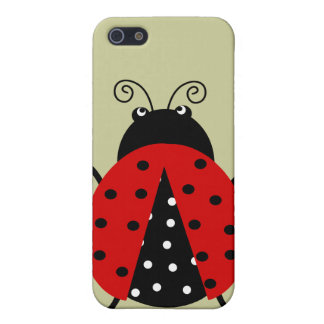 Cute Lovely Red Ladybug Cover For iPhone SE/5/5s