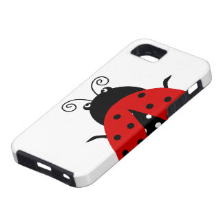 Cute Lovely Red Ladybug iPhone 5 Cases