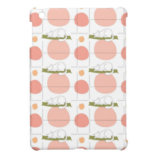 Cute Lovely Sleeping Cat Pattern Case For The iPad Mini