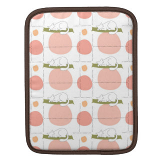 Cute Lovely Sleeping Cat Pattern Sleeves For iPads
