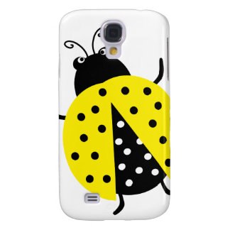 Cute Lovely Yellow Ladybug Samsung Galaxy S4 Cover