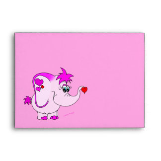 Cute Lucky Pinkie Envelope