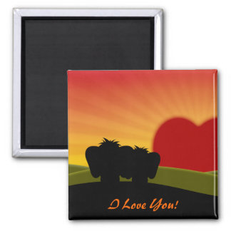 Cute Lucky Pinkie Valentine's Day Magnet