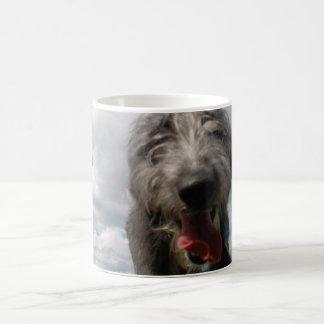 Cute Lurcher Face Mug | Male Lurcher Puppy