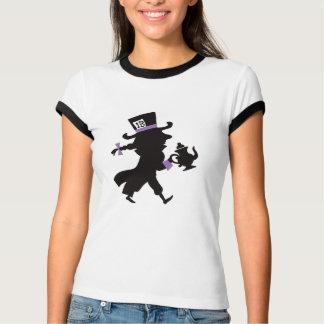 Cute Mad Hatter & Teapot Alice in Wonderland T-Shirt