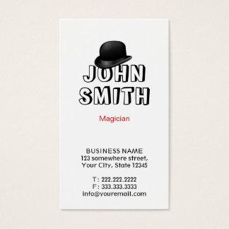 Cute Magic Hat Magician Business Card