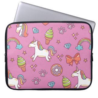 Cute Magic Unicorn Computer Sleeve