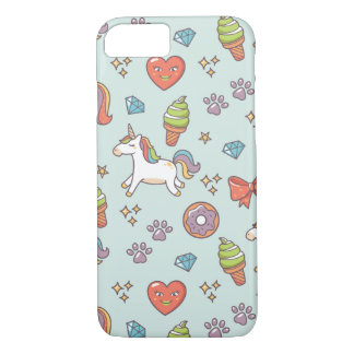Cute Magic Unicorn iPhone 7 Case