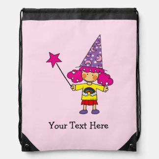 cute magic wizard princess backpacks
