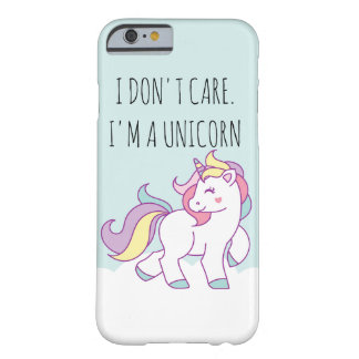 Cute Magical Unicorn Pastel color Personalized Barely There iPhone 6 Case