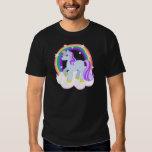 Cute Magical Unicorn with rainbow (Customizable!) T Shirt