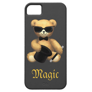 Cute Magician Teddy Bear - Magic iPhone 5 Covers