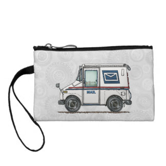 Cute Mail Truck Coin Purse