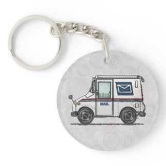 Cute Mail Truck Keychain