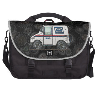 Cute Mail Truck Laptop Bags