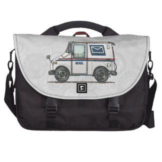 Cute Mail Truck Laptop Bag
