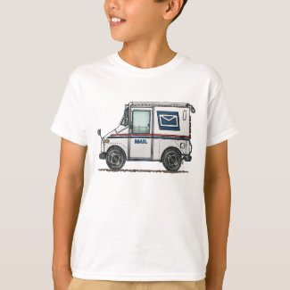 Cute Mail Truck T-Shirt