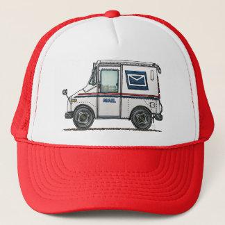 Cute Mail Truck Trucker Hat
