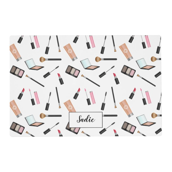 Cute Makeup Things Ilrated Pattern