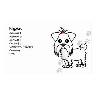 Cute Maltese Dog Business Card