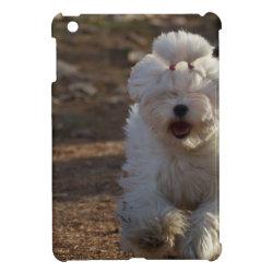 Case Savvy iPad Mini Glossy Finish Case with Maltese Phone Cases design