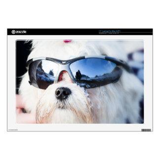 Cute Maltese Dog Skins For Laptops
