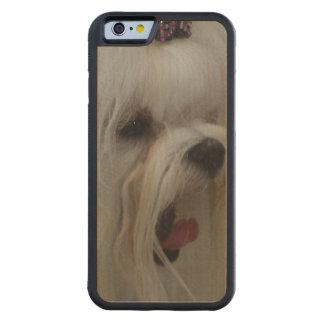 Cute Maltese Dog Carved® Maple iPhone 6 Bumper Case