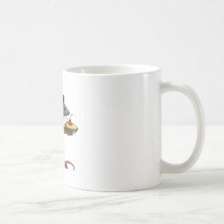 Cute Mama Rat With Pie: Drawing: Color Pencil Coffee Mug
