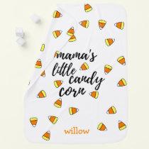 Cute Mama's Little Candy Corn Baby Blanket