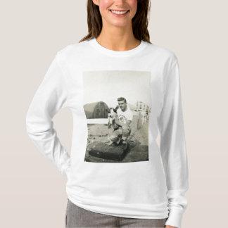 Cute man and dog shirt