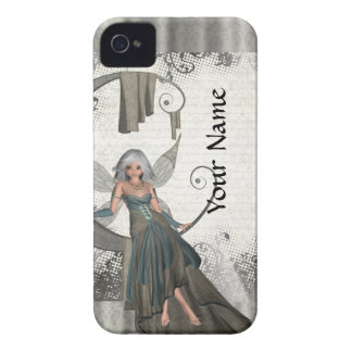 Cute manga fairy iPhone 4 case