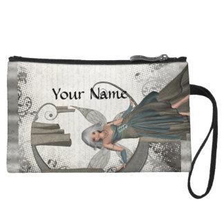 Cute manga fairy wristlet wallet
