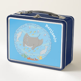 Dolphins Underwater Lunch Boxes Zazzle