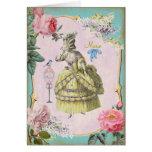 Cute Marie Antoinette - Card